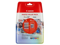 CLI521 CANON MP540 TINTE (4) CMY+PH (2933B010)