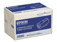 Toner Epson S050690 zwart voor laserprinter
