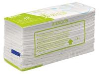 Essuie-mains recyclé pliage en Z double épaisseur blanc - Carton de 4840