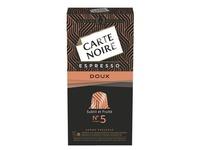 Capsules Carte Noire Doux n°5 - Boite de 10