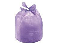 Garbage bag with loops to tie Alfapac 30 liters - Box of 48