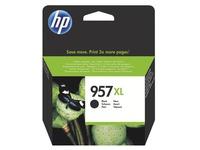 HP 957XL Cartridge hoge capaciteit zwart voor inkjetprinter
