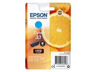 Epson 33 - cyaan - origineel - inktcartridge (C13T33424012)
