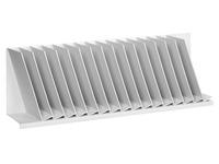 Trieur oblique gris 16 séparateurs L 92 cm