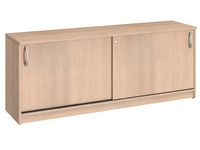 Buffetkast H 73 x B 185 cm hout lichte eik Bruneau Excellens