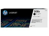 Toner HP 508X hoge capaciteit zwart voor laserprinter
