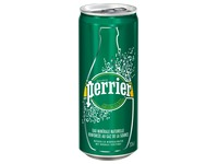 Cardboard, 24 Perrier cans, 33 cl