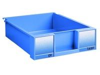 Set of 8 drawers H 8,5 cm - blue