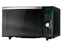 Panasonic NN-DF383B - microwave oven with grill - freestanding - black