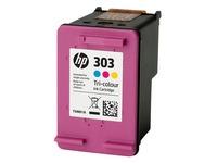 HP 303 - dye-based tricolor - original - ink cartridge