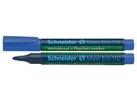 Schneider whiteboard + flipchart marker Maxx Eco110 blauw
