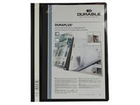 Durable personaliseerbare snelhechtmap Duraplus zwart