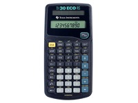 Texas calculatrice scientifique TI-30 ECO RS