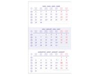Bilingual quarterly calendar 2020