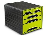 Klasseermodule Cep Smoove - zwarte box met 5 anijskleurige laden