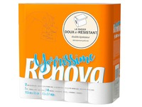 Toiletpapier dubbele dikte Yorrissime Renova - doos met 32 rollen van 140 vellen