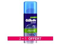 Pack 2 + 1 bussen scheergel Gilette