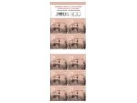 Blister de 10x10 postzegels Koning Filip NON Prior Nat 1 (België)