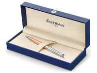 Waterman stylo bille Hémisphère Deluxe Rose Wave avec détail en palladium