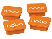 Magneet Nobo 22mm oranje