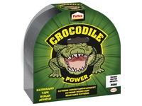 Ruban adhésif Pattex Crocodile Duct Tape 50mmx30m argent