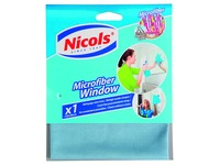 Microfibre cloth for windows blue