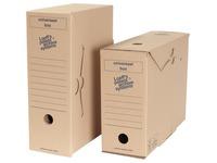 Loeff's boîte d'archivage Universel, carton ondulé, marron, paquet de 8 pièces