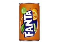 Boisson Fanta Orange canette 0,15L