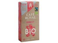 Coffee capsules Café Royal Bio Espresso - box of 10