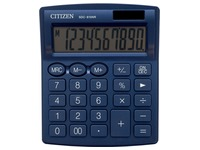 Citizen calculatrice de bureau SDC-810, bleu marin