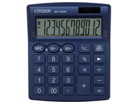 Citizen calculatrice de bureau SDC-812, bleu marin