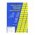 etiketten geel verzenden markeren zelfklevend bedrukbaar adres labels 4 op 1 blad