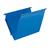 blauwe hangmap voor kasten met bodem in V